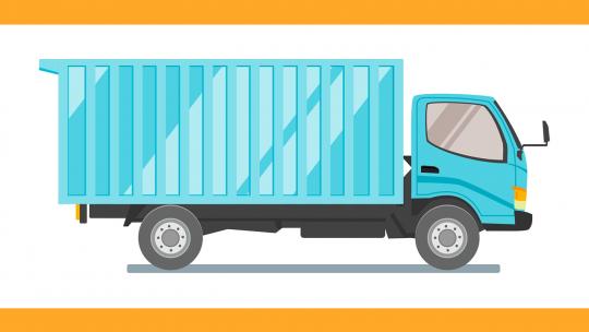 Bakwagen: handig transportmiddel